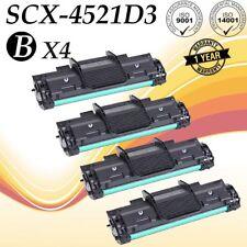 4 PK SCX-4521D3 Black Toner Cartridge for Samsung SCX-4521F SCX-4321 SCX-4521FR