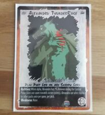 Rage CCG Unlimited Edition Foil Past Life Card **Alexandru ThunderRage**