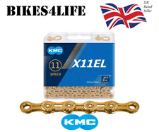 KMC X11EL Gold 11 Speed Chain 118 Links Bicycle Campagnolo Shimano Sram