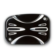 Arlen Ness - 03-455 - Front Brake Master Cylinder Cover, Deep Cut - Black