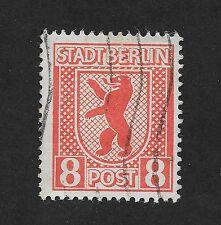 GERMANY RUSSIAN ZONE 8pf STADT BERLIN LH (C1)