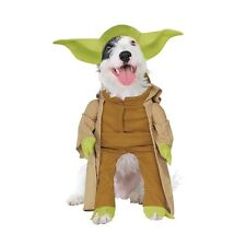 Cani di Star Wars Yoda Costume-Pet TREK Cane Animale Outfit Da Festa in Costume