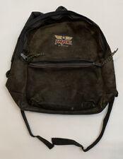 Vintage JanSport Adventurer -  Suede Leather - Backpack Mocha