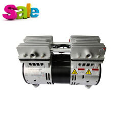 New Dental Air Compressor Motors Turbine Unit Noiseless Oilless Oil Free 07mpa