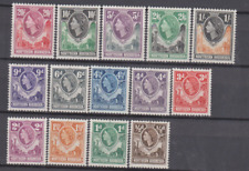 Northern Rhodesia 1953 Mint Mounted Set to 20/- Cat £90
