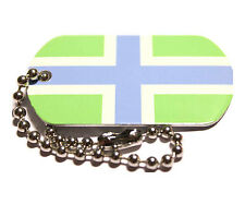 Gloucestershire County Flag Tag - Trackable For Geocaching (Travel Bug Geocoin)