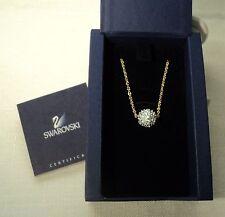 Signed Swarovski Pave' Fireball Necklace