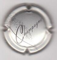 SUPERBE capsule champagne MARLOT COURTILLIER, grise, inscription sur le contour
