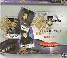 Babylon 5 Season 5 sealed boxes