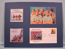 The Beach Boys - Surfer Girl and Surfin' Safari Albums & First day Cover