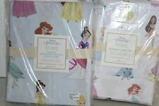 New Pottery Barn Kids Disney Princess Organic Sheet Set + Duvet Twin Full Queen