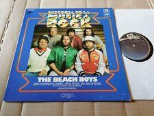 THE BEACH BOYS - HISTORIA DE LA MUSICA ROCK 93 - LP - EPIC - SPAIN 1980