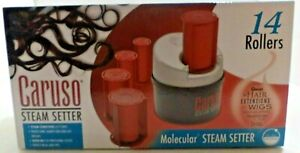 Caruso Traveler 14 Molecular Steam Hairsetter System NEW IN BOX