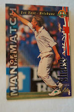 Cricket Collectable - Futera Elite Card - Man of The Match Series - Shane Warne