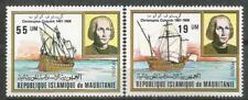 MAURITANIA Scott# 491-492 MNH V Centenario del descubrimiento de América Colón