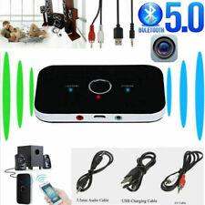 Bluetooth Transmitter Empfänger Sender Wireless Aux Audio Adapter TV Kopfhörer