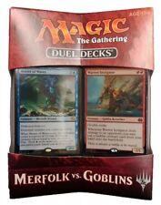 Merfolk vs. Goblins Magic the Gathering Duel Decks English MTG