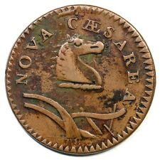 1786 23-P R-4 New Jersey Colonial Copper Coin
