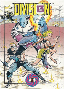 1993 Topps Dark Horse Comics Division 13 Promo Promotion Card Comic