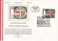 Österreich Fdc Ersttagsbrief Karte 1991 Wolfgang Amadeus Mozart Mi.block 10 Briefmarken
