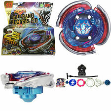 Big Bang Cosmic Pegasus / Pegasis Fury Metal Masters Beyblade Grip Sets Launcher