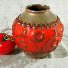 Tolle Kugel  Vase 60er Jahre  Carstens Tönnieshof 652 13 handdekoriert