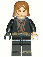 LEGO 7283 - STAR WARS - Anakin Skywalker with Black Right Hand - MINI FIGURE