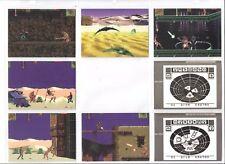 1994 Stargate Video Game Tip Cards complete 8 card set.