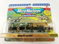 Micro Machines Military Infantry Attack Collection #17 Playset New On Card