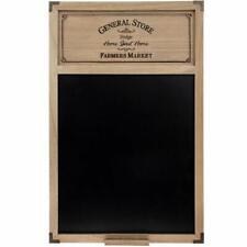 LARGE WALL MOUNTED WOODEN HOME SWEET HOME CHALK BOARD BLACKBOARD