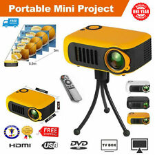 Mini Portable Pocket Projector HD 1080P Movie Video Home Theater HDMI VGA AV SD