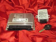 BMW E46 E39 3 5 series 2.0i M54 ENGINE ECU MODULE DME MS43 EWS IGNITION KEY SET