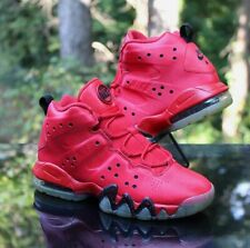 Nike Air Max Barkley GS Size 5.5Y University Red Black 488245-660