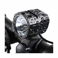 Nestling USB Rechargeable LED Bike Light Set, 1200 Lumen Bicycle Headlight Cr...