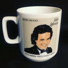 Rare!!  1984 Julio Iglesias 100 Bel Air Place Promo Mug Columbia Records