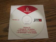 Iomega zip Software solutions cd