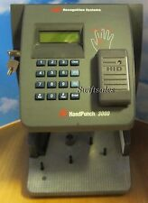IR Recognition Systems Biometric Handpunch HP-3000E Ethernet & Prox - Working