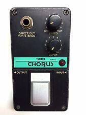 Yamaha CH-01, Analog Chorus, Made In Japan, 1980's, Guitar Effect Pedal