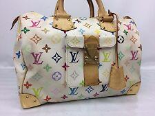 Auth Louis Vuitton Multicolor Speedy 30 Handbag Bron M92643 7G180590s