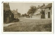Unidentified Village Street From Green RP PC Unposted, Possibly Somerset