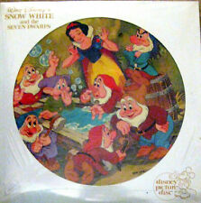 """SNOW WHITE & THE SEVEN DWARFS"" 1980 Disney Picture Disc LP Record~New & Sealed"