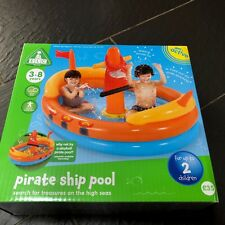 EARLY LEARNING CENTRE ELC INFLATABLE PIRATE SHIP POOL - BALL POOL NEW
