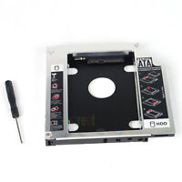 New SATA 2nd SSD Hard Drive Caddy For HP Probook 6445b 6450b 6455b 6555b 6460b