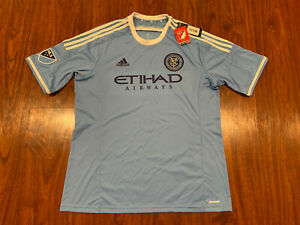 2015-16 Adidas New York City NYCFC Men's Soccer Jersey XL Extra Large MLS US