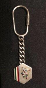 Rare Italia Co 800 Silver Ciao Key ring/ Key Chain