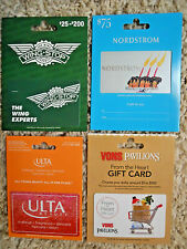 Collectible Gift Cards, new, unused, with backing, no value on cards (F-2)