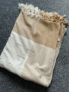 100% Cotton Blanket Throw