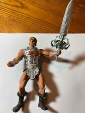 Battle Sound He-Man  200x MOTU Masters of the Universe Action Figure Silver