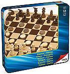 Tablero de ajedrez y damas Cayro madera