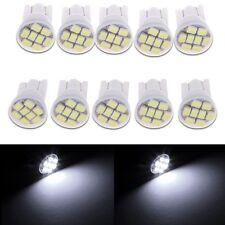 10x T10 W5W 1206 8SMD LED Blanc Voiture Ampoule Lampe Feux veilleuse light 12V